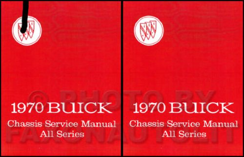 1970 Buick Repair Shop Manual Original - All Models