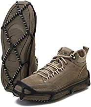 Esptula Walk Spike Winter Traction Pull-ons for Men and Women (Large)