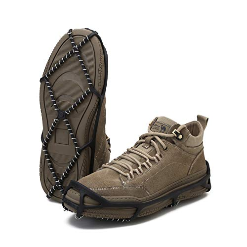 Esptula Walk Spike Winter Traction Pullons for Men and Women Small