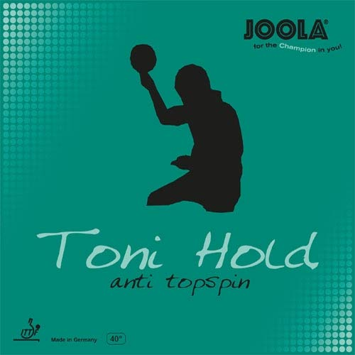 JOOLA Belag Toni Hold Anti Top (Anti) Größe 2,5 mm, schwarz