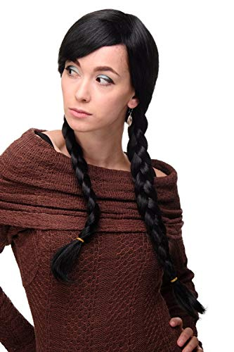 WIG ME UP - Perücken & Haarteile für Erwachsene in Schwarz (1B), Größe Länge: ca. 60 cm