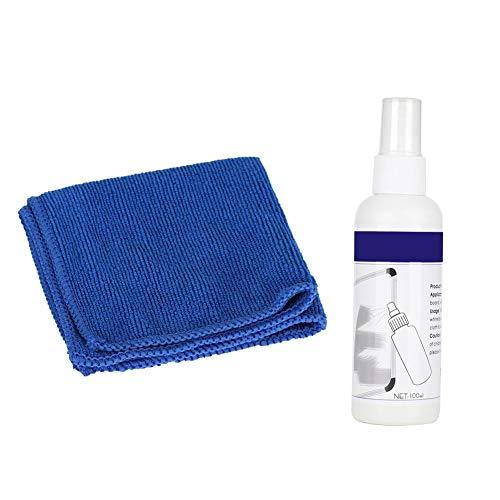 ASHATA Whiteboard Cleaner Spray , Ungiftiger und harmloser Whiteboard Cleaner, ideal zum Reinigen hartnäckiger Flecken von trockenem Whiteboard mit dem Wischtuch