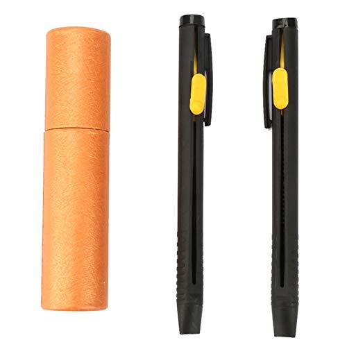 EVTSCAN Lápices de Tela, lápiz de Tiza de Sastre, Marcador de Tela, Marcador de lápiz de Tela, Herramienta de Costura para Manualidades