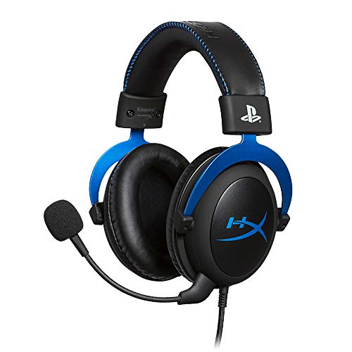 HyperX Cloud ゲーミングヘッドセット PS4公式ライセンス インライン音量コントロールBox付属 2年保証 HX-H...