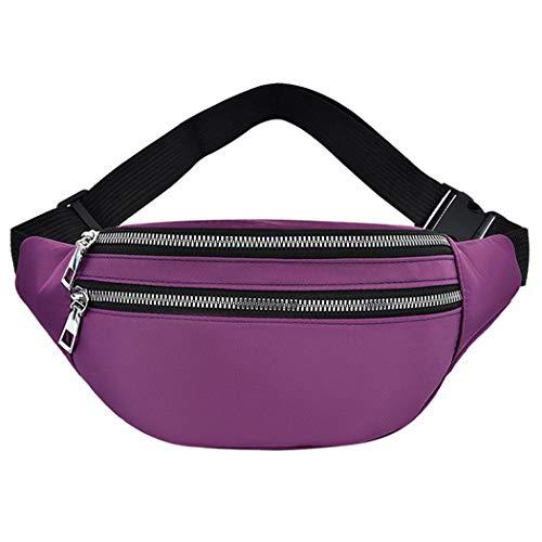 Bageek Bolso de la cintura de la moda del bolso de la riñonera del pecho del bolso de la riñonera del bolso del crossbody