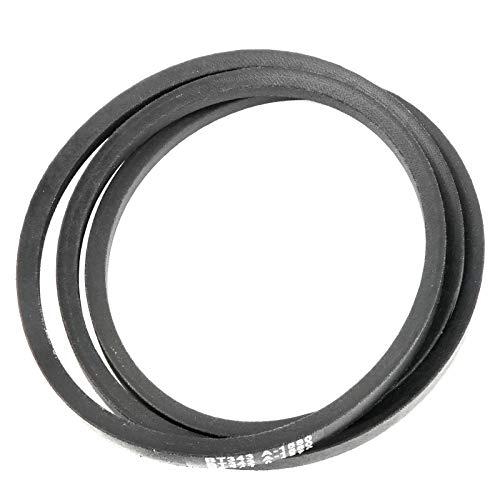 Caltric Deck/Drive Belt Compatible with John Deere Srx75 Srx95 Sx75 Sx85 M112006 (1/2 X 61-1/2) in -  BT343/4