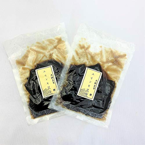 無添加佃煮・ご飯のおともに やわらか昆布 (エリンギ昆布)2袋セット