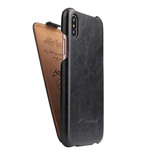 RZL Teléfono móvil Fundas para iPhone 12/12 Pro / 12 Pro MAX 12 Mini, Funda de Cuero Genuino Vertical Flip Funda para iPhone 12 Pro MAX 12 Pro MAX 12 Mini