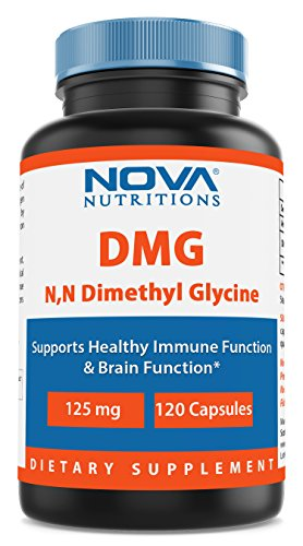 Nova Nutritions DMG 125 mg 120 Capsules