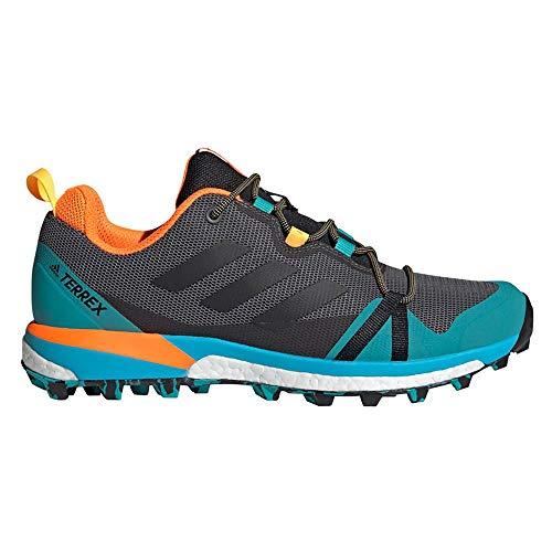 adidas Terrex Skychaser LT, Zapatillas de Hiking Hombre, Gricua/NEGBÁS/AGALRE, 43 1/3 EU