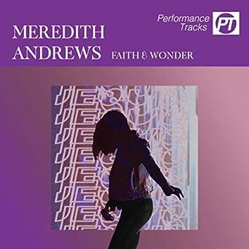 Faith And Wonder (Performance Track)
