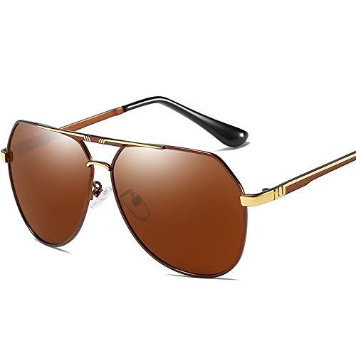 Gafas de Sol Gafas de Sol polarizadas Gafas de Sol de protección UV de Moda con Montura Grande for Conducir protección para los Ojos (Color : C)