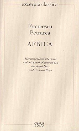 Africa: Textband, Kommentarband Lateinisch - Deutsch (Excerpta classica)