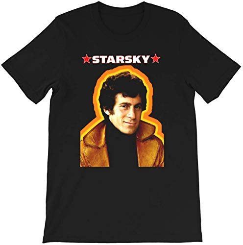 Star-Sky and Hut-ch Action Television Series Movie Comedy Film Gift for Mens Womens Girls Unisex T-Shirt Black