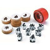 LACOR Set 8 stampi per Biscotti, Acciaio Inossidabile, Centimeters