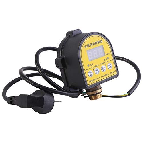 Niiyen Interruptor de presión Digital automático, Controlador de presión de Bomba de Agua Digital automático para el hogar Interruptor de Encendido y Apagado Inteligente 220v