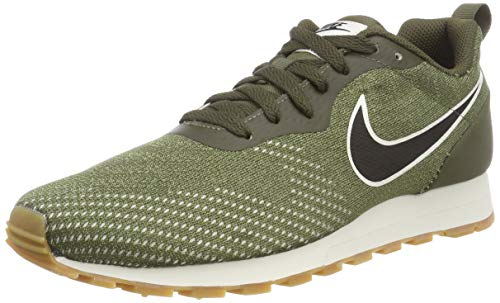 Nike MD Runner 2 Eng Mesh, Zapatillas de Running Hombre, Multicolor (Cargo Khaki/Black/Neutral Olive 302), 47 EU