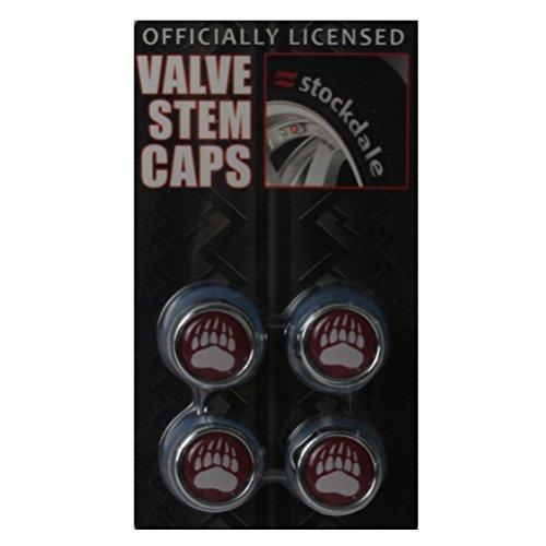 Stockdale Montana Grizzlies Valve Stem Caps by
