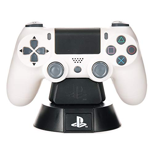 Paladone PlayStation DS4 Controlador Icon Light BDP, Ideal para dormitorios infantiles, oficina y hogar, Mercancía para juegos de cultura pop, multicolor, PP6398PS