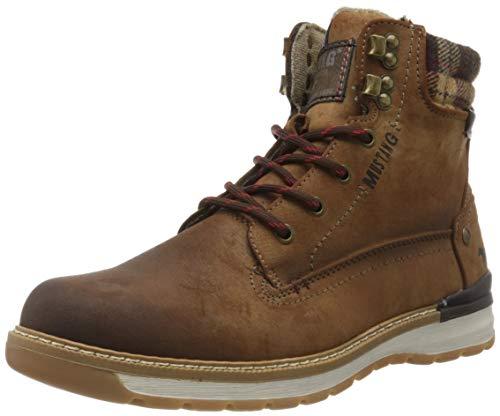 MUSTANG Herren 4141-503-360 Klassische Stiefel, Braun (Mittelbraun 360), 41 EU