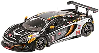 Minichamps 1:18 Escala 2013 Mclaren MP4-12C Boutsen Racing Ginion 24h SPA Kit fundió el Modelo