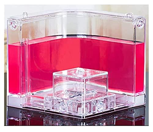 Castillo de conexión de la Granja con Tubos Permite el Estudio de Las Hormigas de Comportamiento del ecosistema Dentro del Laberinto 3D del Gel translúcido como (Color : Pink)