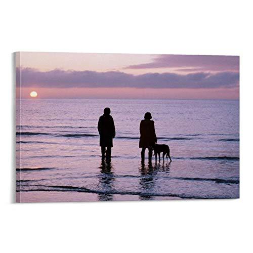 LINMEIMEI Póster de película de estilo Polaroid con ilustración submarino, idea de regalo, lienzo decorativo para pared, sala de estar, dormitorio, pintura de 20 x 30 cm
