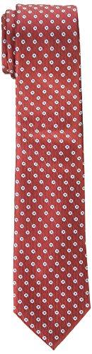 Dockers Neckwear Big Boy's Dot Necktie red, One Size
