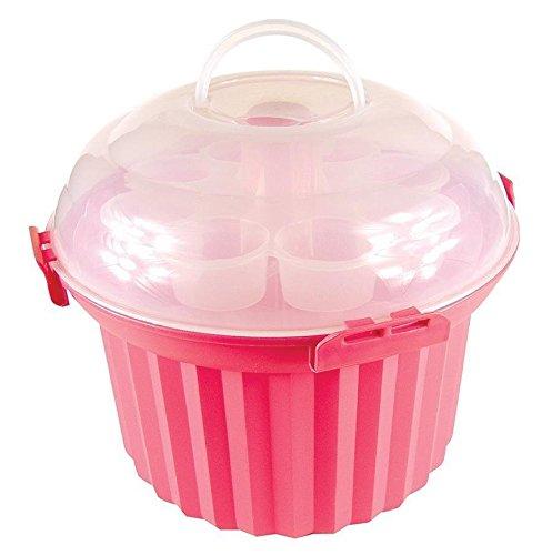 Cupcake Rose Carrousel (Capacité 24)