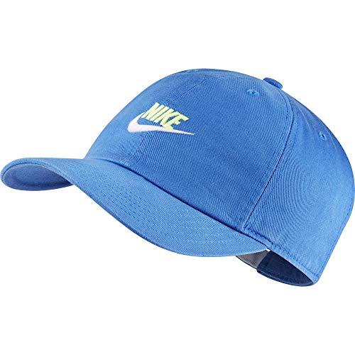 Nike Kids H86 Cap Futura (Little Kids/Big Kids) Pacific Blue/Ghost Green/White One Size