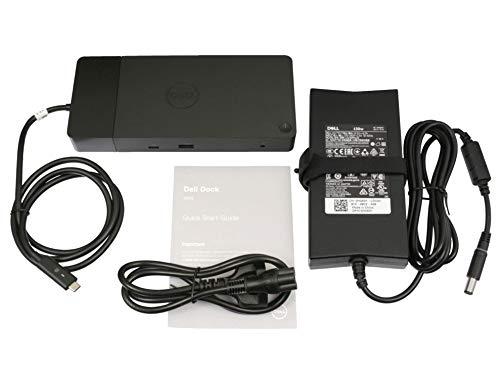 Dell WD19 USB-C port replikator incl. 130W ac-adapter suitable Latitude 7480 series