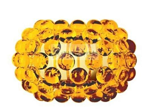 5151BuyWorld Lampe Pendelleuchten Moderne Minimalist Acryl Schnur-Anhänger Licht Zeus Sweat Caboche Hängende Lichter Für Esszimmer Top Qualität {35cm Golden}