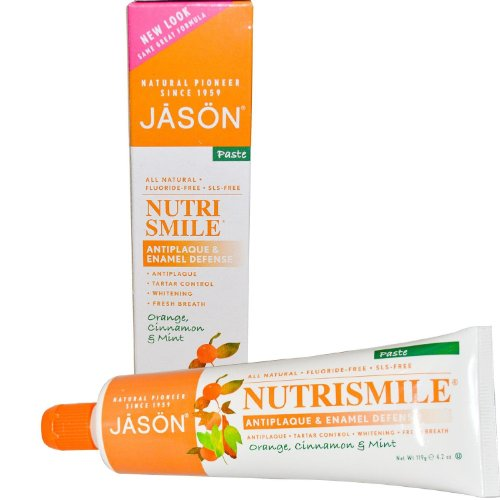 JASON NutriSmile Enamel Defense Anti-Cavity Toothpaste, 4.2...