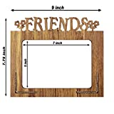 Poster N Frames Decorative Friends Hand Crafted Wooden Table Photo Frame 5x7
