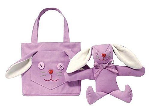 North American Bear Company Goody Bag Butterfly Pink