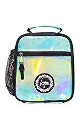Color: Multi Pattern: Holographic Gender: Unisex Closure Type: Zip Care Instruction: Wipe Clean Only