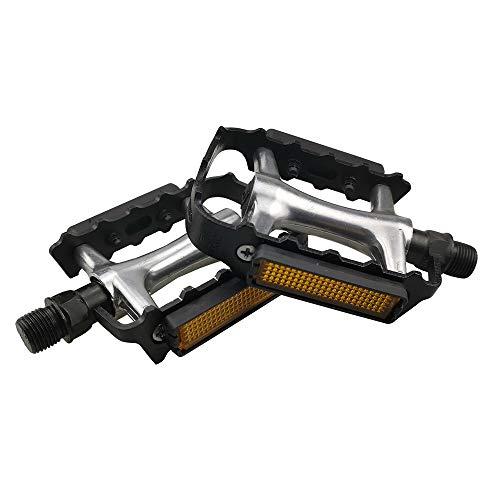 """MEGHNA Pedali per Bici da Strada Ultraleggera Universali Set di Pedali per MTB BMX Bici da Corsa Durevole Accessori per Bici da 9/16"""""""