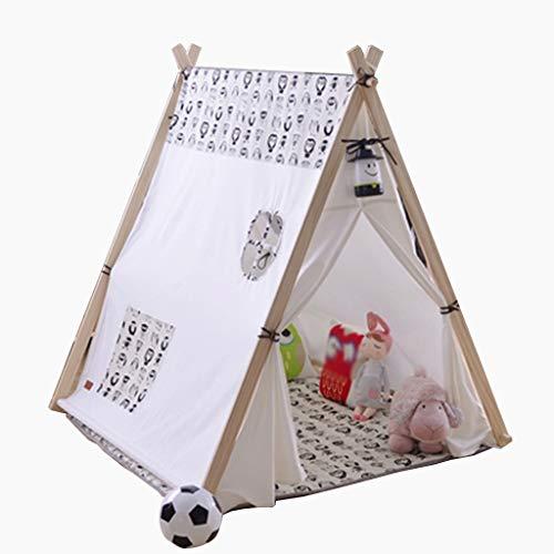 C-J-Xin Children's Baby Tent, Secret Base, Indoor Klein huis huishouden Tent, Planken Ondersteuning Tent Kids Toy Tent (Color : D)