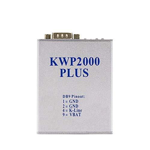 WYYHAA Herramienta de diagnóstico KWP 2000 Plus OBDII OBD2 ECU Herramienta de Ajuste de Chips Smart Rempox Decodish