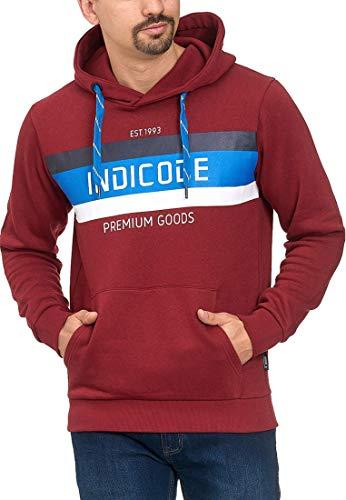 Indicode Heren Crescent Sweatshirt Met Capuchon | Warme Hoodie Sportieve Trui Met Capuchon Moderne Sweatshirt Met Capuchon Heren Trui Hooded Sweater Trui Voor Mannen