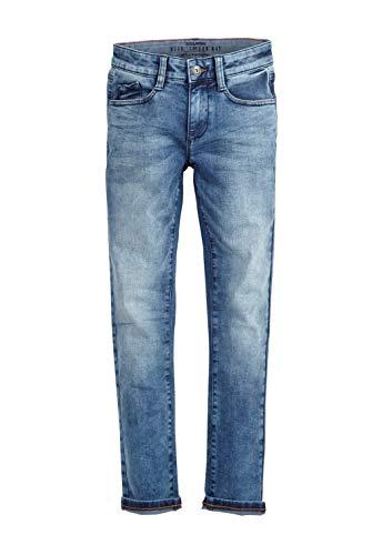 s.Oliver Junior Jungen 75.899.71.1008 Jeans, Blue Stretched den, 158 (Herstellergröße: 158/REG)