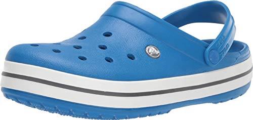Crocs Unisex-Erwachsene Crocband Clogs, Blau (Bright Cobalt/Charcoal), 43/44 EU