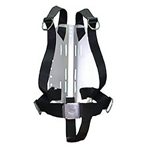 Storm Accessories Stainless Steel Technical Divers Back Plate with Harness & Crotch Strap