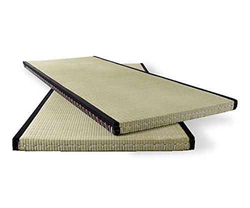 futon-online Tatami japanische Matte Bodenmatte Reisstrohmatte Igusa-Gras, Größe:100 x 200 cm