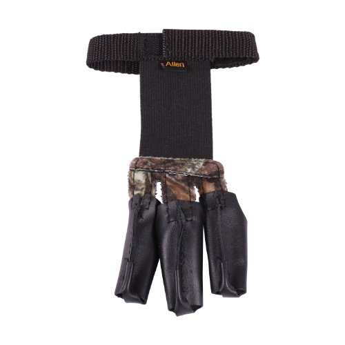 Allen Company 3 Finger Archery Glove, Mossy Oak Break-Up Camo