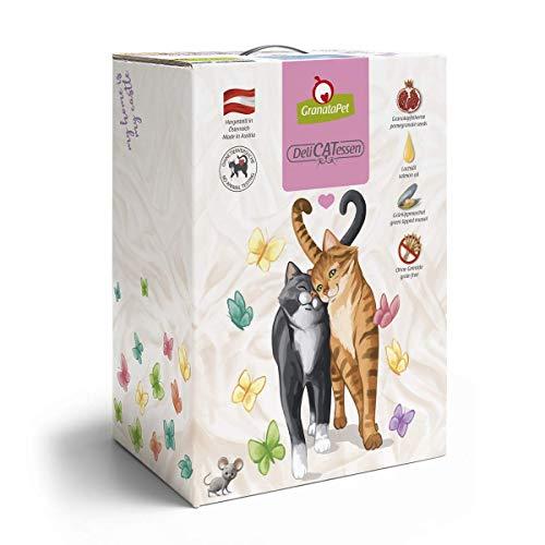 GranataPet Delicatessen Kaninchen & Lamm, Trockenfutter für Katzen, schmackhaftes Katzenfutter, Alleinfuttermittel ohne Getreide & ohne Zuckerzusätze, 9000 g