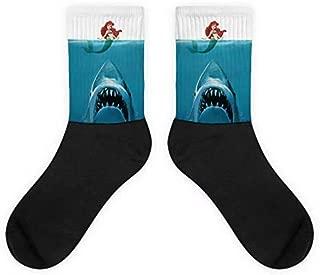 YITU Women Mermaid Tail Patterns Knee Socks Knee High Socks Casual Socks