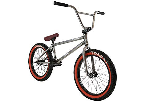 BMX Bikes Tribal Chief BMX Bike – Clear Coat Raw [tag]