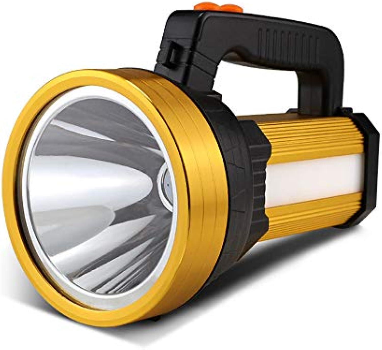 BUTHRONE 160W Suchscheinwerfer Blendung tragbare Taschenlampe super helle 1000 Meter wiederaufladbare LED Wasserdichte Notbeleuchtung im Freien