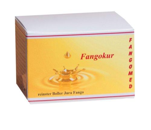 Fangokur - 100ml - natur Fangopulver für Mundhygiene - Zahnfleisch/Rachenraum